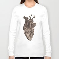 anatomical heart Long Sleeve T-shirts featuring Anatomical Heart by Redmonks