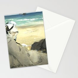 """Édouard Manet """"On the Beach"""" Stationery Cards"""