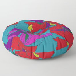 summers grace #2 Tropical Floor Pillow