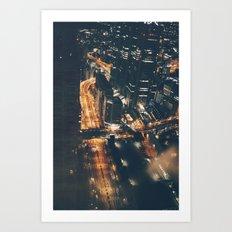 Streamed Art Print