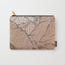 The Mountains of Old Carry-All Pouch