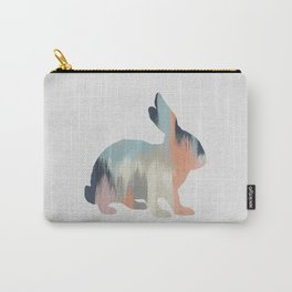Pastel Rabbit Carry-All Pouch
