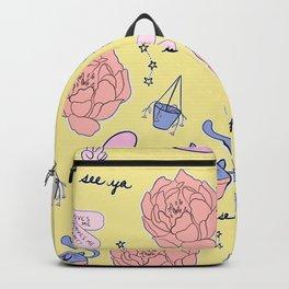 Cute Pastel Pattern Backpack
