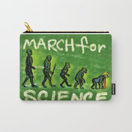 March For Science Carry-All Pouch