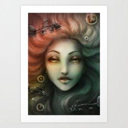 Espinas Art Print