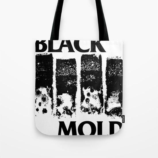 Black Mold Tote Bag