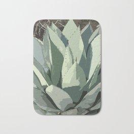 Aloe Vera Abstract Bath Mat