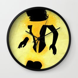 Kitty Pryde Wall Clock
