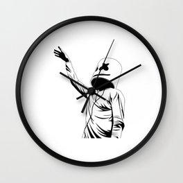 marshmello fun Wall Clock