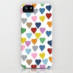Hearts #3 Slim Case iPhone (5, 5s)