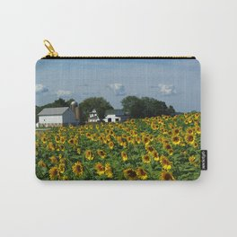 Sunflower Farm  - Pope Farm Conservancy, Wisconsin Carry-All Pouch
