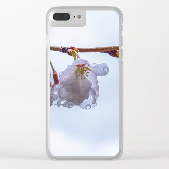 Brb... I'll be a Cherry Soon Clear iPhone Case