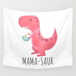 Mama-saur Wall Tapestry