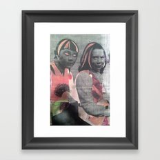 JUJU Framed Art Print
