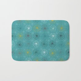 seedheads blue Bath Mat