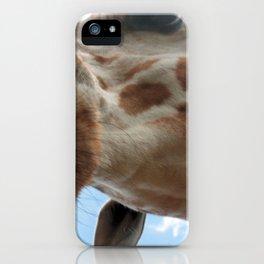 Extreme Giraffe iPhone Case