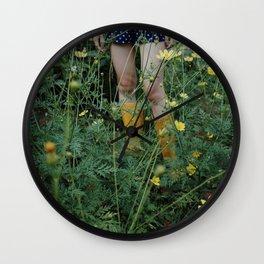 Green farmer Wall Clock