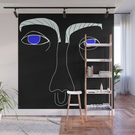 Judy Blue Eyes Wall Mural
