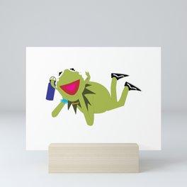 VSCO Kermit Mini Art Print