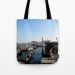 gondolier - venice Tote Bag