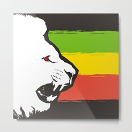 Rasta Lions (The Kingdom) Metal Print