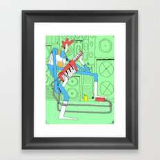 Kaiefsi Framed Art Print