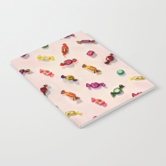 Sweet Candy Painted Pattern Notebook