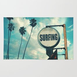 Surfing Sign Rug