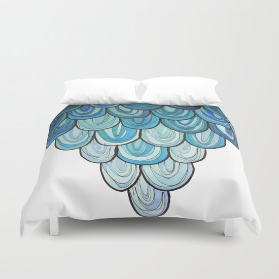 I am beating all my wings Duvet Cover