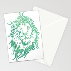 Green Lion Stationery Cards