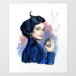 Miss Peregrine Art Print