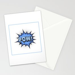 POW! Comic Book Stationery Cards