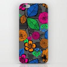 New Fashion Vector Flower iPhone Skin