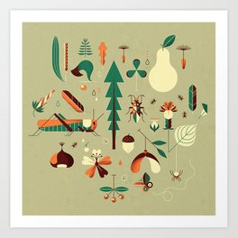 Countrylife #2 — Grass Art Print