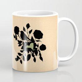 New York - State Papercut Print Coffee Mug