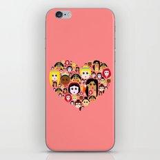 Love Princesses iPhone & iPod Skin