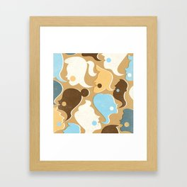 Gossip Framed Art Print