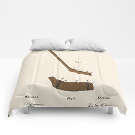 Hockey Stick Patent - Colour Comforters