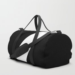 Number 7 (White & Black) Duffle Bag