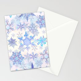Snowflakes #4 Stationery Cards