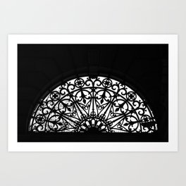 Patterned Arch Art Print
