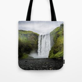 Skogafoss Waterfall Iceland Tote Bag