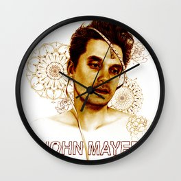 john mayer search everything 2020 Wall Clock