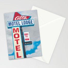 Alta Motel Stationery Cards