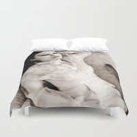 ghost Duvet Covers featuring Ghost by Hilary Dow