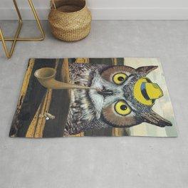 Owls Love Mysteries Rug