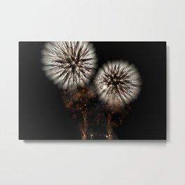 Bokeh Sparkle (Fireworks) Metal Print