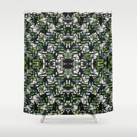 bamboo Shower Curtains featuring Bamboo by Glanoramay