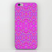 candy iPhone & iPod Skins featuring Candy Colored Pixels by 2sweet4words Designs