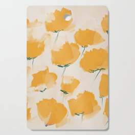 The Yellow Flowers Cutting Board